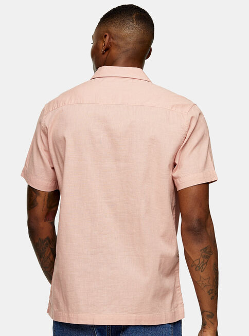 Camisa%20Washed%20Rosa%20Revere%20Topman%2C%C3%9Anico%20Color%2Chi-res