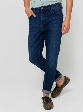 Jeans Clásico Azul Foster,Azul Oscuro,hi-res