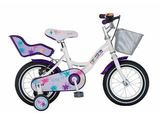 Bicicleta Infantil Bianchi Kitty Aro 12,Blanco,hi-res