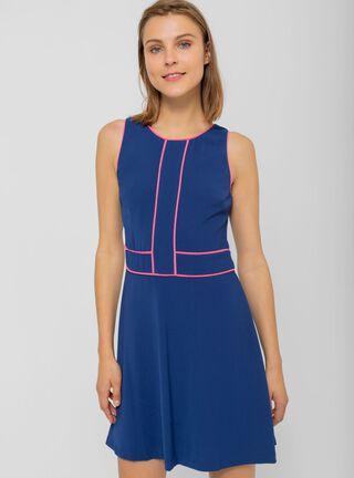 Vestido Sin Mangas iO,Azul Marino,hi-res