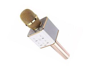 Micrófono Karaoke Bluetooth Dorado Introtech,,hi-res