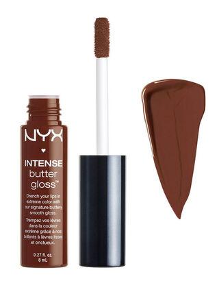 Brillo Labial Intense Butter Gloss Rocky Road NYX Professional Makeup,,hi-res