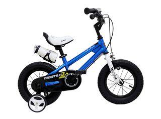 Bicicleta Infantil Royal Baby Aro 12 Azul,Azul,hi-res