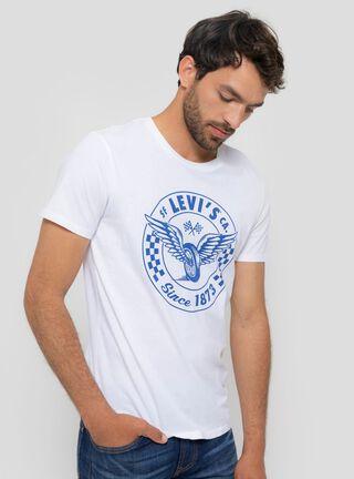 Polera Print Águila Levi's,Lino,hi-res