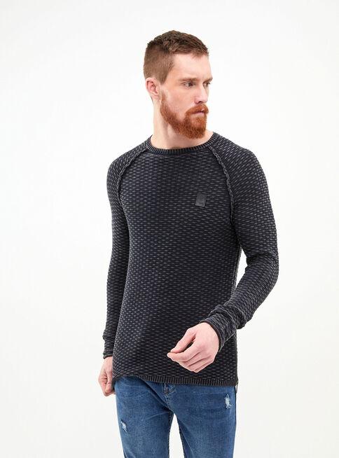 Sweater%20Lavado%20Punto%20Fantas%C3%ADa%20Muscle%20Fit%20JJO%2CNegro%2Chi-res