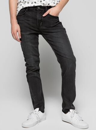Jeans Urbano Slim Fit Foster,Negro,hi-res