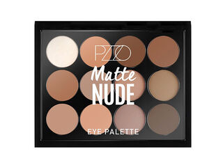 Paleta Maquillaje Ojos Matte Nude Petrizzio,,hi-res