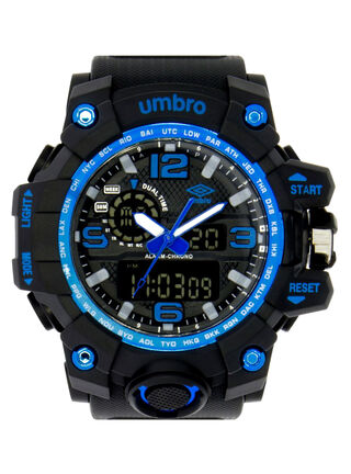 Reloj Unisex Negro Umbro,,hi-res