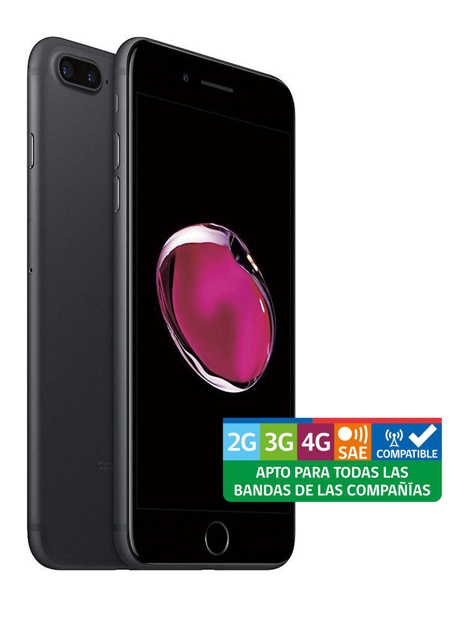 13206a57a46 Iphone 7 Plus 128GB Negro Brillante Liberado en Celulares | Paris