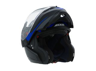 Casco Axxis Optimus Quest Negro Azul,Negro,hi-res