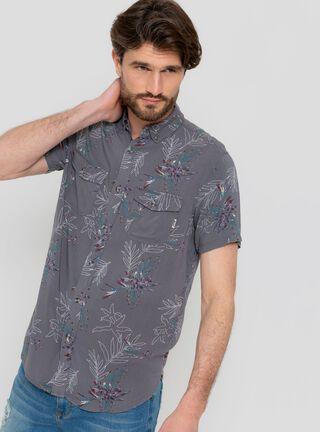 Camisa Print Flowers Reef,Marengo,hi-res