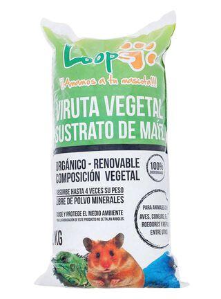 Viruta Vegetal Pequeños Roedores Loops 800 gr,,hi-res