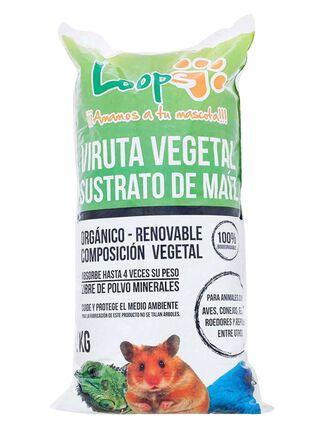 Viruta Vegetal Pequeños Roedores Loops 2 kg,,hi-res