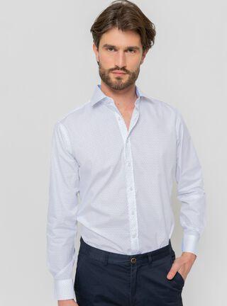 Camisa Mini Print Arrow,Blanco,hi-res