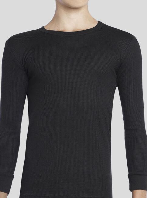 Camiseta%20T%C3%A9rmica%20Piqu%C3%A9%20Ni%C3%B1o%20Tejido%20Panal%20T10-12-14-16%20Tais%2CNegro%2Chi-res
