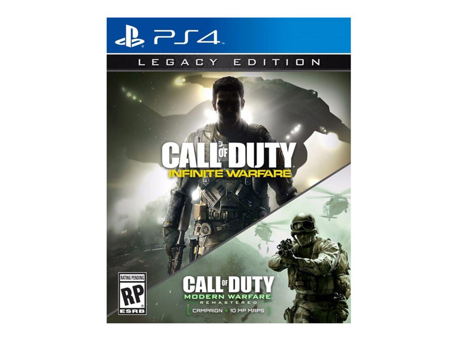 Juego Ps4 Call Of Duty Infinite Warfare Legacy Edition Juegos Ps4