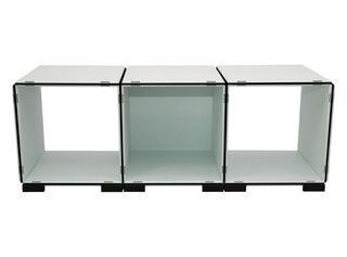 Mueble Modular Set 11 Piezas Blanco Negro Kab Möbel,,hi-res