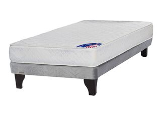 Cama Europea Gris New Entree 1 Plaza Flex,,hi-res