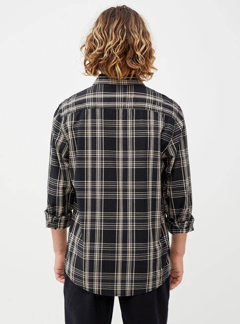 Camisa%20Checks%20Popelina%20Opposite%2CNegro%2Chi-res