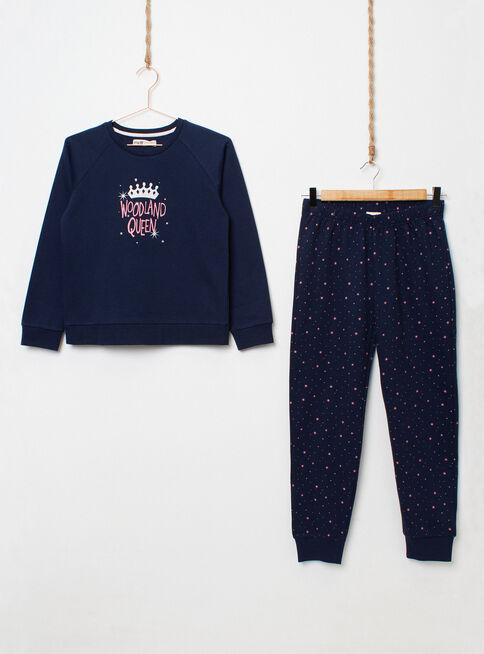 Pijama%20Largo%20Fleece%20Ni%C3%B1a%20Melt%2CAzul%20Petr%C3%B3leo%2Chi-res