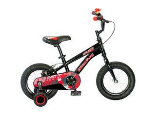Bicicleta Infantil Bianchi Goliat Aro 12,Negro,hi-res