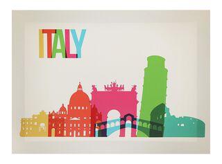 Canvas Ciudades Italy 40 x 30 cm Attimo,,hi-res