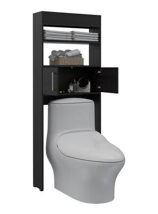 Mueble Optimizador de Baño Madrid TuHome,Negro,hi-res
