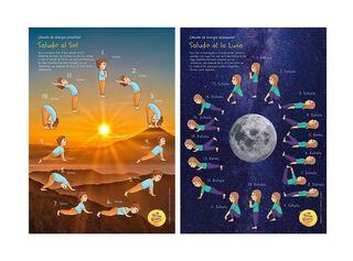 Poster Saludo al Sol y Luna Yoga Kiddy,,hi-res