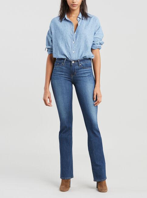 Jeans%20Tiro%20Medio%20Recto%20Levi's%2CAzul%20Petr%C3%B3leo%2Chi-res