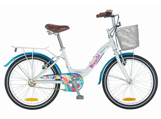 Bicicleta Paseo Niña Bianchi Street Aro 20 Hasta 150 cm,Blanco,hi-res