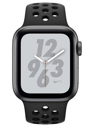 AppleWatch Nike+ Series4 (GPS), caja aluminio en gris espacial 40 mm y correa NikeSport antracita/negra,,hi-res