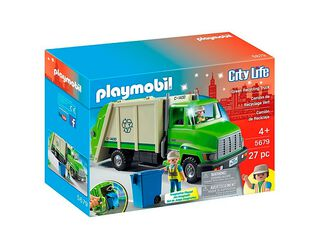 Camión de Reciclaje Playmobil,,hi-res