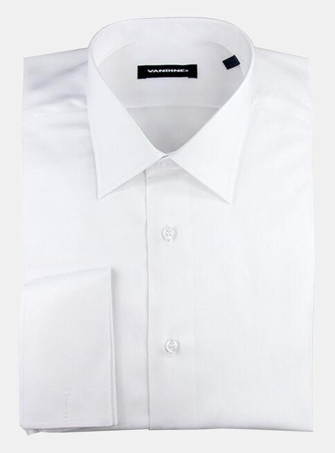 Camisa Slim Fit Largo Manga 33-34 Collera Cuello Romo Sin Bolsillo Vandine 50d009d9898
