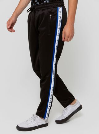 Pantalón Buzo Calce Regular Fit Opposite,Negro,hi-res