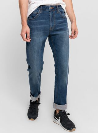 Jeans Focalizado Líneas Lee,Azul Petróleo,hi-res