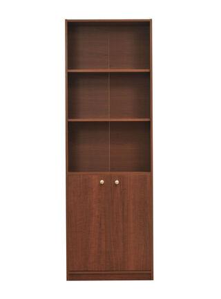 Librero 5 Repisas 2 Puertas 60x30x180 cm Mobikit,,hi-res