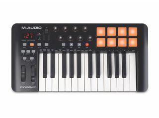 Controlador MIDI M-Audio 25 Teclas,,hi-res