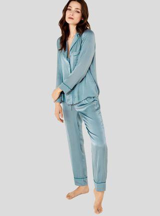 Pijama Summer Sense Frq Women'Secret,Azul Eléctrico,hi-res
