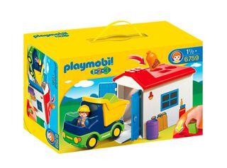 Camión con Garaje 123 Playmobil,,hi-res