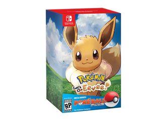 Juego Nintendo Switch Lets Go Eevee + Pokeball,,hi-res