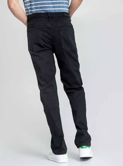 Jeans%20Denim%20Liso%20Foster%2CNegro%2Chi-res