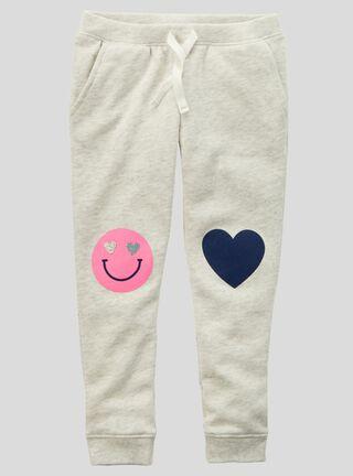 Pantalón Niña 2 A 4 Años Carter's,Grafito,hi-res