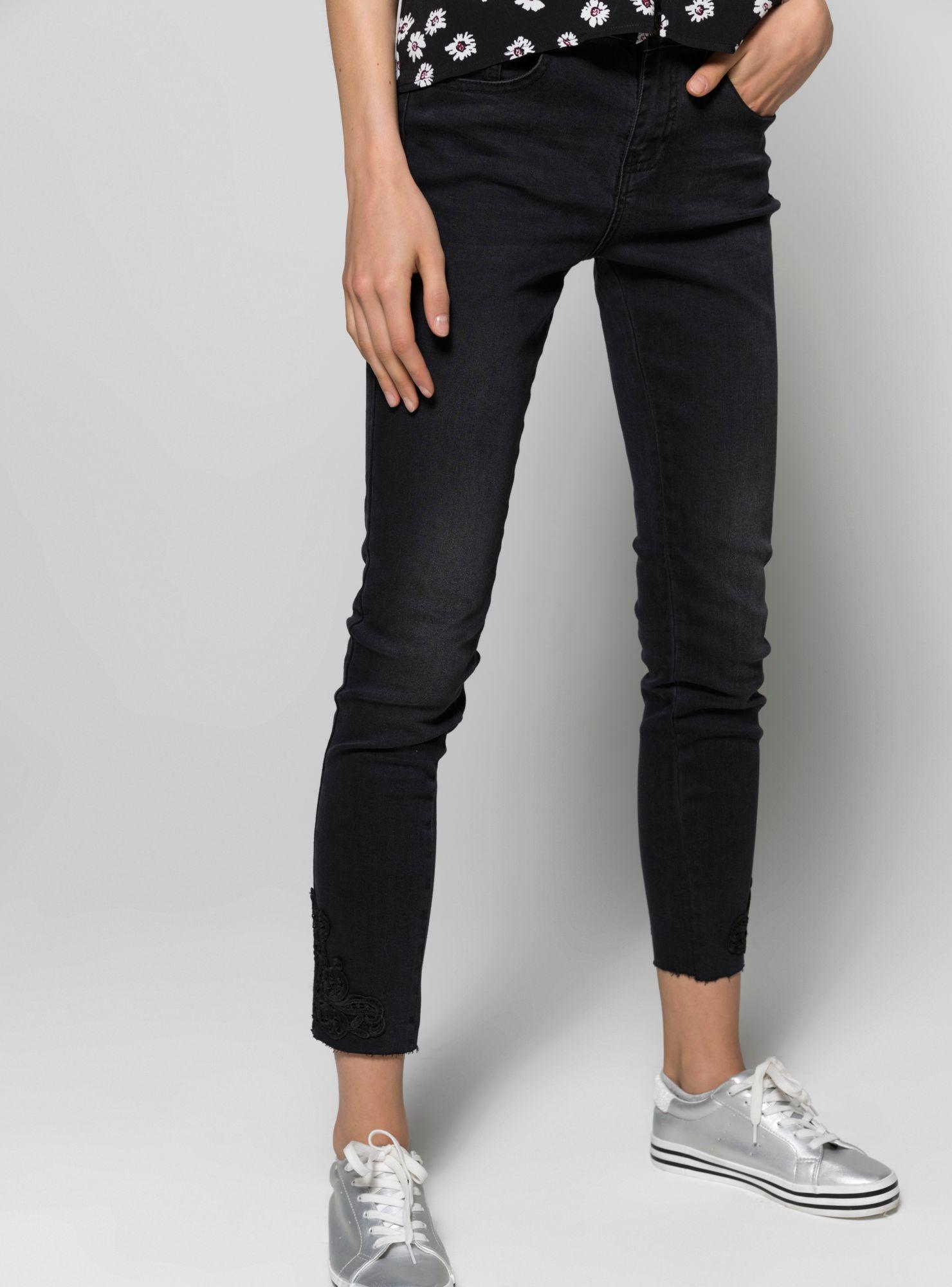 Bordada Terminación Jeans Jeans Terminación Unlimited xtvWTwHq10