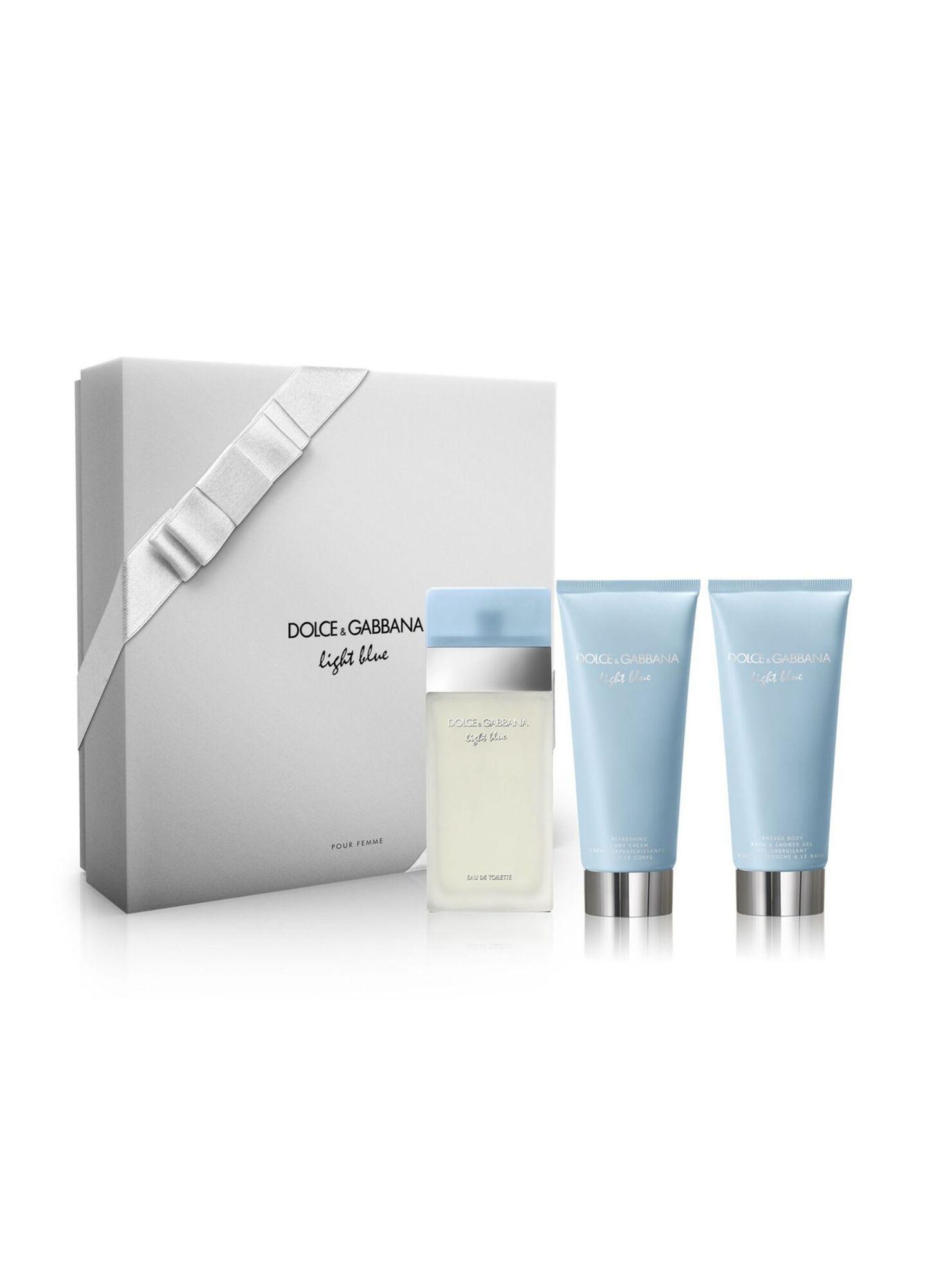 a2ac5e6b55e4c Set Perfume Dolce   Gabbana Light Blue EDT 100 ml - Estucheria