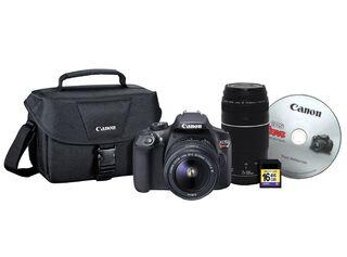 Cámara Reflex Canon T6 + Lente 18-55m + Lente 70-300mm + bolso + Memoria 16GB,,hi-res