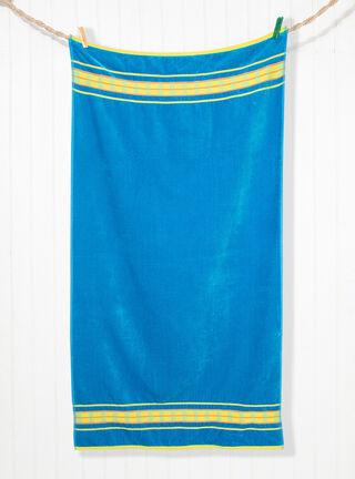 Toalla Playa Arrabela 86 x 160 cm Attimo,Azul,hi-res