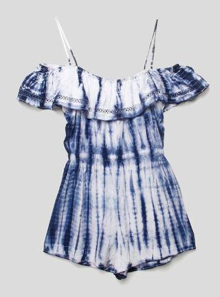 Polera de Niña Alas Foster,Azul Eléctrico,hi-res