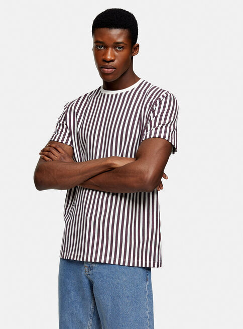 Polera%20Manga%20Corta%20White%20and%20Pink%20Waffle%20Stripe%20Topman%2C%C3%9Anico%20Color%2Chi-res