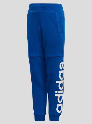 Pantalón Buzo Adidas Logotipo Estampado Niño,Azul,hi-res
