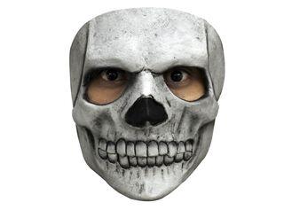 Máscara Calavera Dientes Carnaval,,hi-res